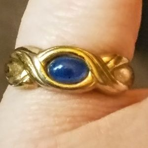 Jewelry - Vintage Faux Blue Chalcedony ring